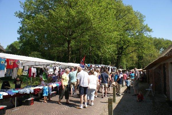 Dieverse zomermarkt