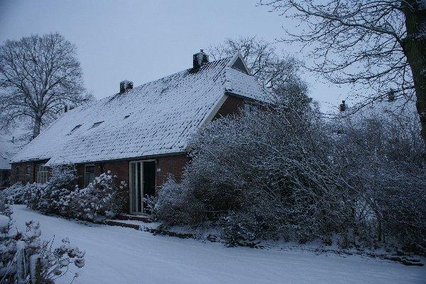 ''Onder de Eiken'' in de winter