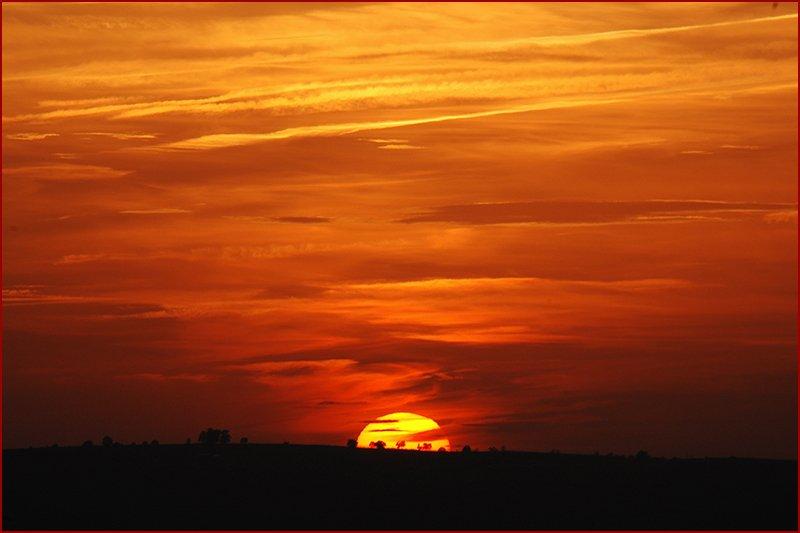genieten van prachtige zonsondergangen.