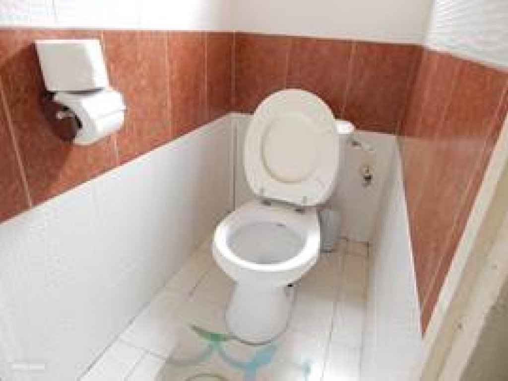 Toilet benedenwoning